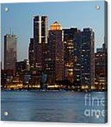Downtown Boston Skyline Acrylic Print