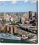 Downtown Buffalo Skyline Acrylic Print
