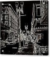 Downtown By Angelia Acrylic Print