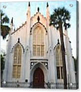 Downtown Charleston Church Acrylic Print