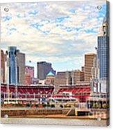 Downtown Cincinnati 9885 Acrylic Print