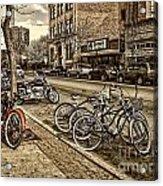 Downtown Coeur D'alene Idaho Acrylic Print