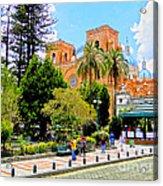 Downtown Cuenca Ecuador Acrylic Print