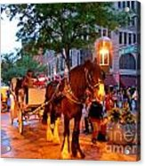 Downtown Denver Colorado Acrylic Print