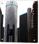 Downtown Detroit Through Joey's Eyes Acrylic Print