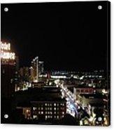 Downtown Energy Acrylic Print