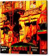 Downtown Heatwave  Acrylic Print