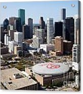 Downtown Houston Acrylic Print
