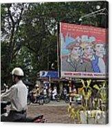 Downtown In Hanoi Acrylic Print