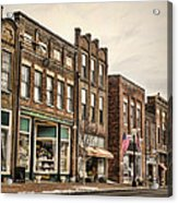 Downtown Jonesborough Acrylic Print