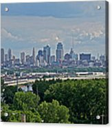 Downtown Kansas City From The Northland Acrylic Print