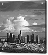 Downtown La Acrylic Print