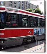 Downtown Light Rail Toronto Ontario Acrylic Print