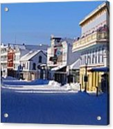 Downtown Mackinac In The Early Morning Acrylic Print