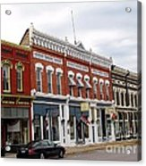 Downtown Manistee Michigan Acrylic Print