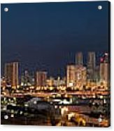 Downtown Miami Skyline At  Acrylic Print