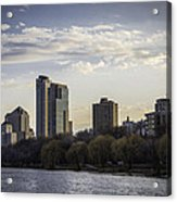Downtown Milwaukee From Lakefront Acrylic Print