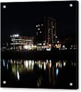 Downtown Morgantown From The Waterfront Acrylic Print