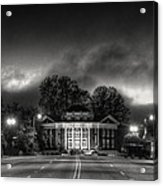 Downtown Murphy Nc In Black And White Acrylic Print