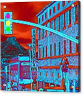 Downtown Prescott Arizona  Acrylic Print