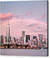 Downtown Rainbow Acrylic Print