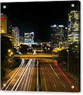 Downtown Richmond Acrylic Print