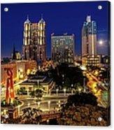 Downtown San Antonio Acrylic Print