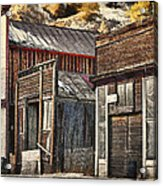Downtown Silver Plume Acrylic Print