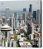 Downtown Skyline Of Seattle Acrylic Print