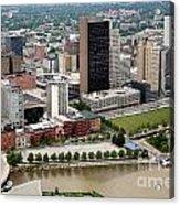 Downtown Skyline Of Toledo Ohio Acrylic Print