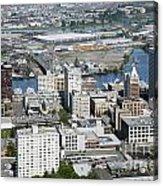 Downtown Tacoma Washington Acrylic Print