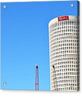 Downtown Tampa Photography - Leaning Tower Of Sykes - Sharon Cummings Acrylic Print