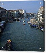 Downtown Venice Acrylic Print