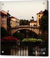 Downtown Vicenza Acrylic Print