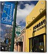 Downtown Walnut Creek California Acrylic Print