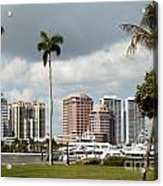 Downtown West Palm Beach Acrylic Print