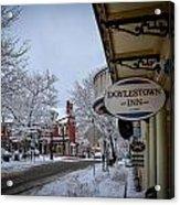 Doylestown Inn Acrylic Print