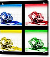 Dozer Mania Iv Acrylic Print
