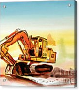 Dozer October Acrylic Print