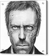 Dr. Gregory House - House Md Acrylic Print