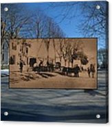 Dr. Isaac B. Cowen At The Little Compton Commons In Rhode Island Acrylic Print
