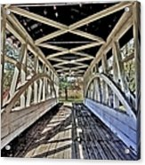 Dr. Knisely Covered Bridge Acrylic Print