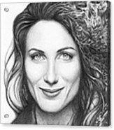 Dr. Lisa Cuddy - House Md Acrylic Print by Olga Shvartsur