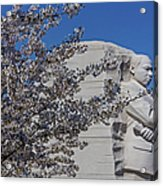 Dr Martin Luther King Jr Memorial Acrylic Print