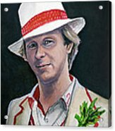 Dr Who #5 - Peter Davison Acrylic Print