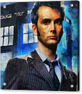 Dr Who Number 10  Acrylic Print