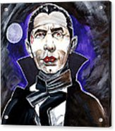 Dracula Bela Lugosi Acrylic Print