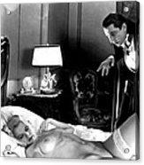 Dracula Bela Lugosi Fantasy Nude Acrylic Print