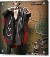 Dracula Model Kit Acrylic Print