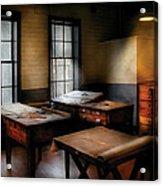 Draftsman - The Drafting Room Acrylic Print